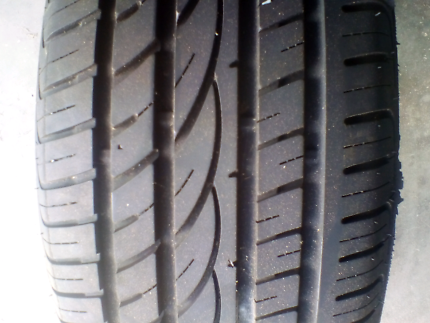 Near new tyre for sale