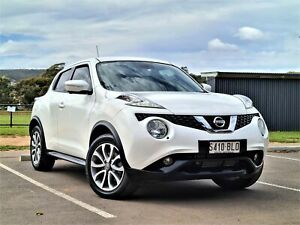 2014 Nissan Juke F15 MY14 Ti-S AWD White 1 Speed Constant Variable Hatchback St Marys Mitcham Area Preview