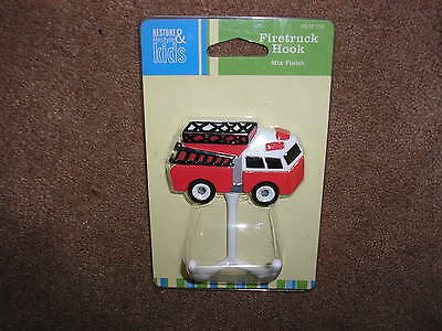 Fire Truck Coat Rack (New Restore & Restyle Kids Firetruck Hook Fire Truck Coat Hook Mix Finish )