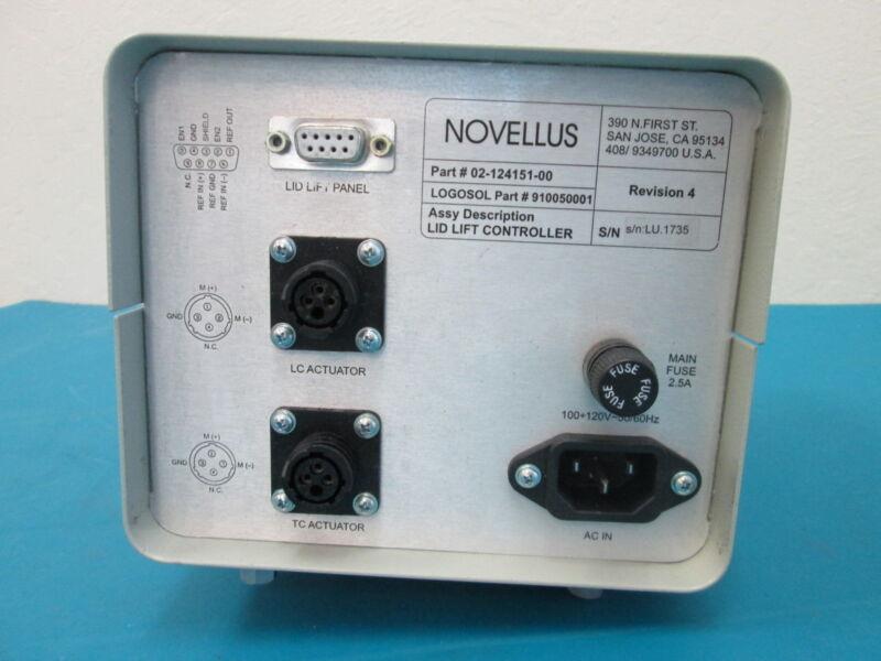 Novellus LOGOSOL Lid Lift Controller 02-124151-00 Rev 4