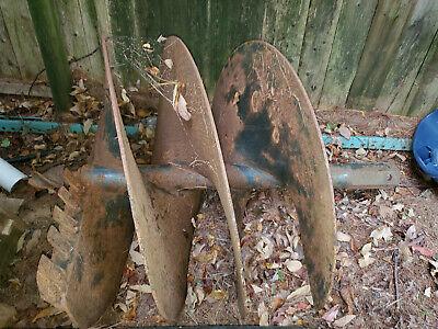 Bobcat Skid Steer Attachment - Lowe 36 Sq-36 Round Shaft Auger Bit -