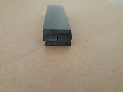 20 Pieces- Black Plastic Delrin Acetal Sheetl-shape Block Wremovable Velcro