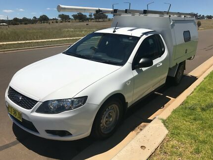 2010 Ford Falcon Ute with Telstra Canopy