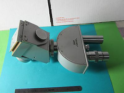 Optical Microscope Head Zetopan Reichert Austria As Is Pictured Optics Bin30