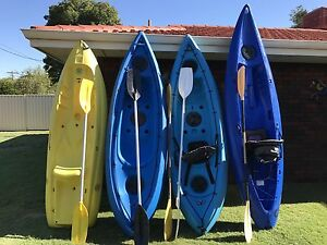 Sea kayaks x 4 Ferndale Canning Area Preview