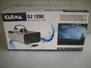 DJ 1200 smoke machine 1200w KARMA - pinerolo, TO, Italia - L'oggetto può essere restituito - pinerolo, TO, Italia