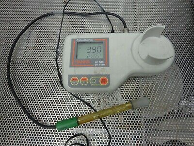 Hanna Instruments Hi-208 Ph Meter With Electrode