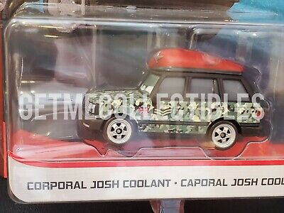DISNEY PIXAR CARS CORPORAL JOSH COOLANT LONDON CHASE DELUXE 2020 SAVE 6% GMC