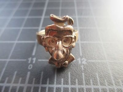 CARL BARKS PROTOTYPE RING STERLING SILVER ONLY 3 KNOWN 1995 DONALD DUCK