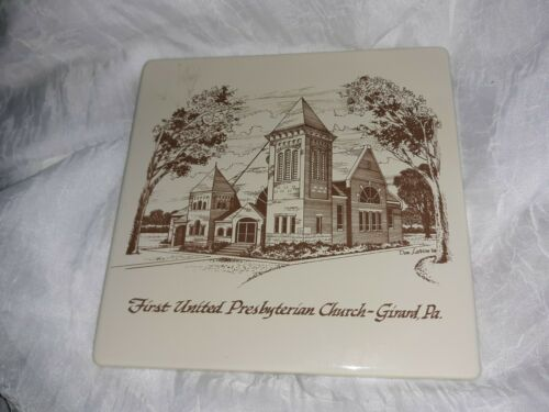 Vintage FIRST UNITED PRESBYTERIAN CHURCH Girard Pa