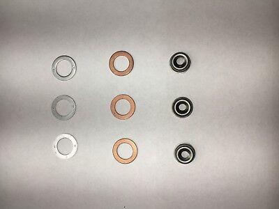 Kubota Engine 3 Cylinder Injector Seal Kit W19077-53650 Heat Shield 0503ev3