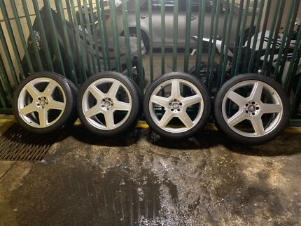 Mercedes AMG R21 Rims with tyres Five Dock Canada Bay Area Preview