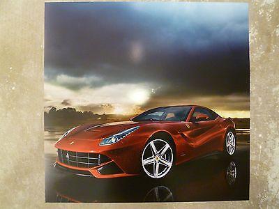 2012 Ferrari F12 Berlinetta Print, Picture, Poster, RARE!! Awesome L@@K