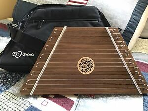 Handcrafted lap harp