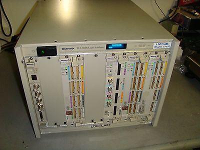 Tektronix Tla7016 Logic Analyzer Benchtop Mainframe Tla7aa4tla7p2 Opt.19 Tq348