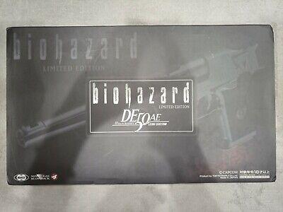 LIMITED DESERT EAGLE 50AE 10 INCH LEON CUSTOM Resident Evil Biohazard airsoft, usado comprar usado  Enviando para Brazil