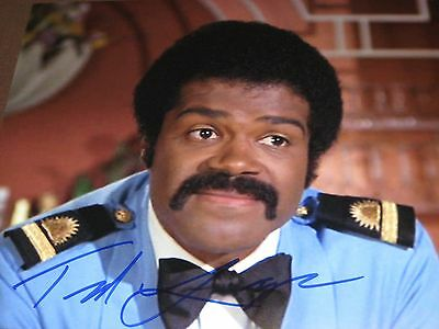 Issac Love Boat (THE LOVE BOAT'S ISSAC ACTOR TED LANG AUTOGRAPHED 8X10 PHOTO WITH COA)