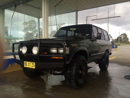 1987 Toyota LandCruiser turbo diesel 60 series Merewether Newcastle Area Preview