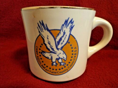 CAMP AQUILA FAIRFIELD COUNTY COUNCIL  Boy Scouts of America Coffee Mug Cup