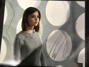JENNA COLEMAN DOCTOR WHO SERIES (Signed picture)
