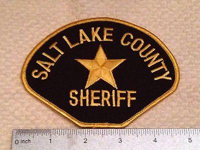 UT Salt Lake County Utah Sheriff Patch