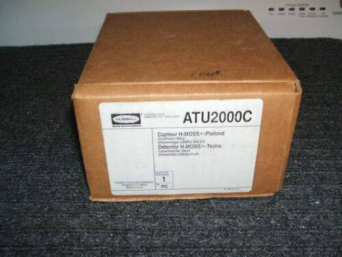 NEW Occupancy Sensor HUBBELL H-MOSS ULTRASONIC Wiring Device ATU2000C