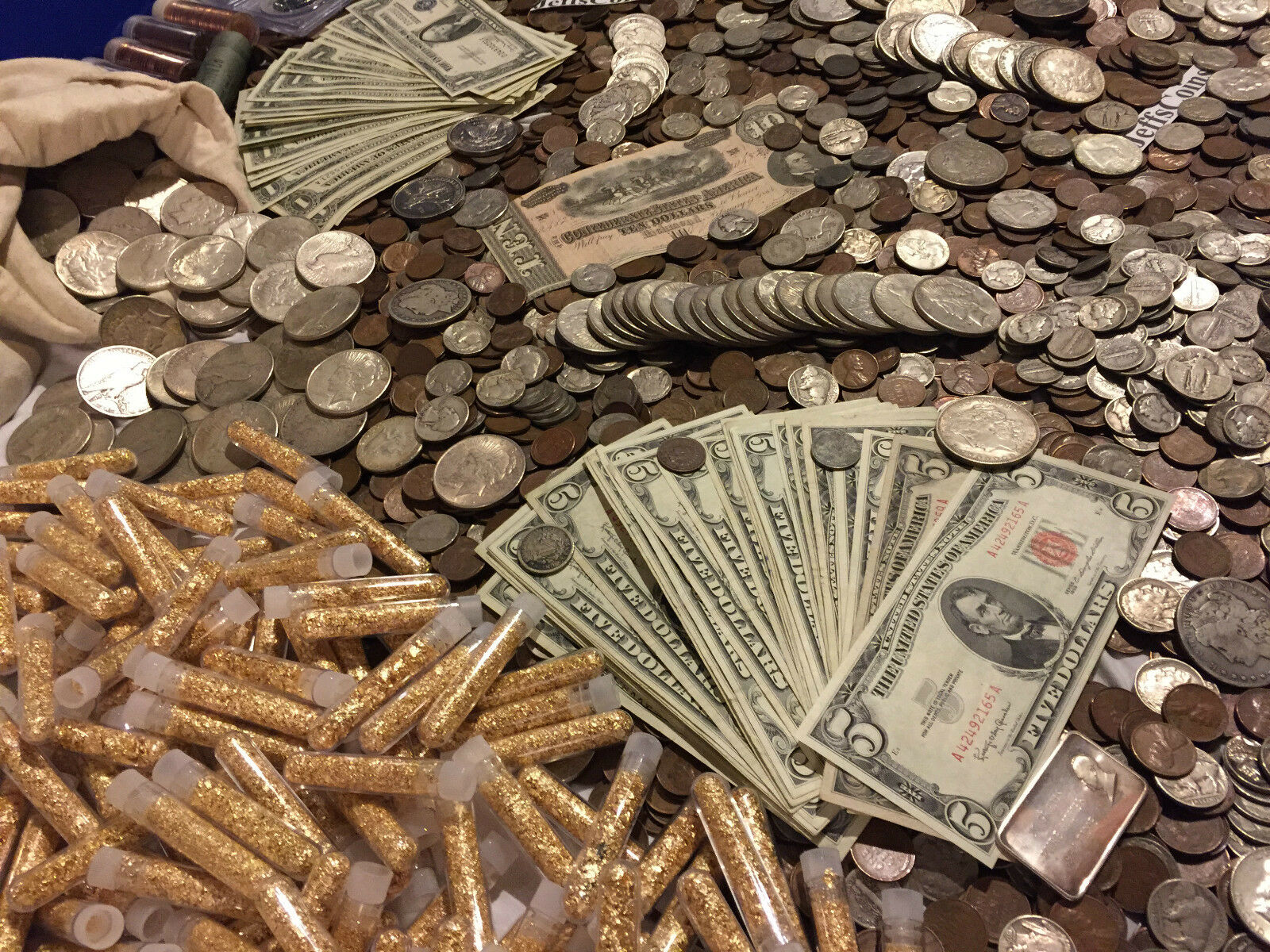 ✯ESTATE LOT OLD US COINS $✯GOLD .999 SILVER BARS BULLION✯ MONEY HOARD PCGS✯SALE✯