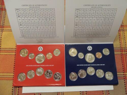10 COINS US MINT SET in Genuine US Mint Envelope Unopened P D S 1968 Silver