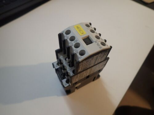 Moeller DIL00M & 31 DIL M Contactor With 115V 60Hz Coil