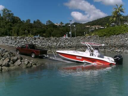 Glasstream  Scx Power Boat Motorboats Powerboats Gumtree Australia Whitsundays Area Airlie Beach