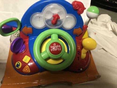 euc car dash steering wheel interactive toy