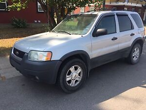 2004 Ford Escape V6 4WD