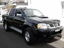 Navara  2.5 CRTDiesel 4x4 d22 STR twin cab 22, 000 klm Manly Manly Area Preview