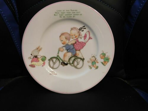 Vintage Mabel Lucie Attwell Shelley England Plate