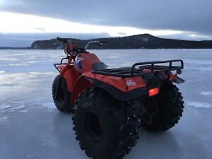 Honda ATC 200 big red