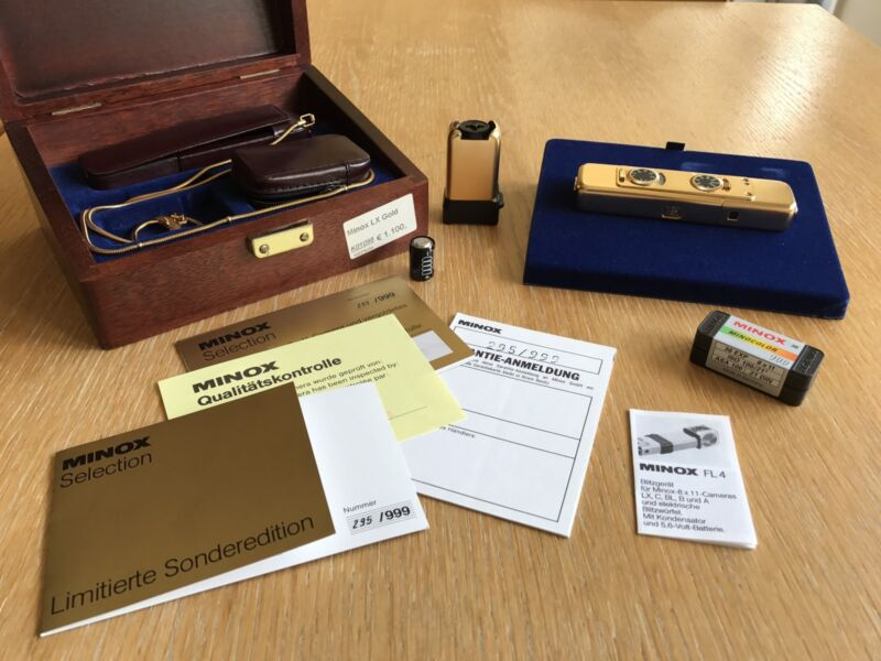 Minox LX Selection - Gold 295/999 - CLA by DAG 10 Years Ago
