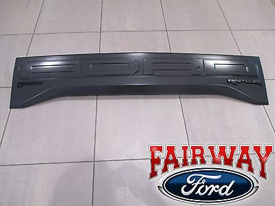 2017 F-150 OEM Genuine Ford SVT RAPTOR Tail Gate Applique Rear Trim Panel NEW