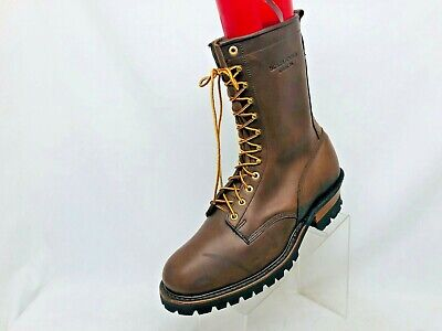 Whites Hathorn Explorer Brown Boots Leather Packer Logger Woodland Mens Sz 14 EE