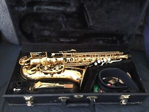 Alto Saxophone with Accessories