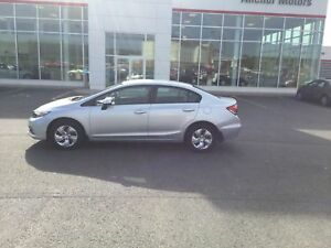 2013 Honda Civic LX AUTO; AIR; BLUETOOTH; HEATED SEATS