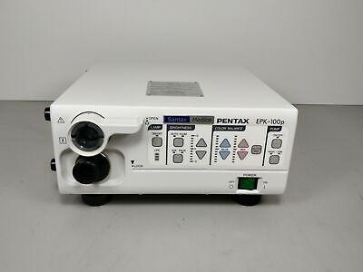 Pentax Epk-100p Video Processor Santax Medico Used