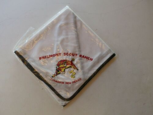 Unused Vintage Philmont Scout Ranch Boy Scout BSA Embroidered Neckerchief Bull