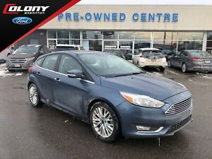 2018 Ford Focus Titanium | DAILY RENTAL | CPO 2.9% 72 Months!