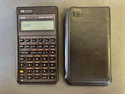 Hewlett Packard HP 32s RPN Scientific Calculator with Case, Works