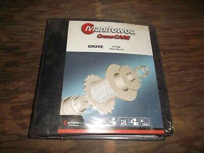 Manitowoc Rt760e Rough Terrain Crane Factory Parts Catalog Manual