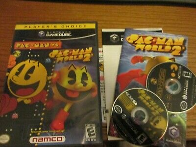 Pac MAn vs Pac Man World 2 (Nintendo Gamecube) Complete Free Shipping