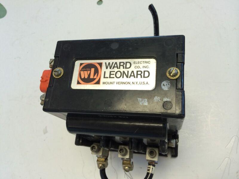 USED WARD LEONARD 7442-3050-11 CONTACTOR, SIZE 2, 250VDC, 50A GA