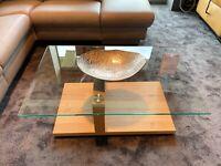 Couchtisch Glastisch Tisch Glas Musterring Eiche - Polsterarena Nordrhein-Westfalen - Dormagen Vorschau
