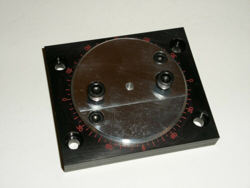 Rotating Mill Vise Base for Unimat Lathe DB200/SL1000