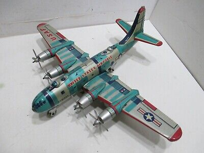 B-29 SUPER FORTRESS WITH TRUNING PROPS FRICTION very good COND JAPAN 15